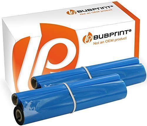 Bubprint Thermotransferrolle kompatibel für Brother PC-72RF PC72RF 2er Pack