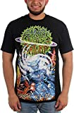 Rings of Saturn Herren Lugal Ki En T-Shirt, X-Large, Black