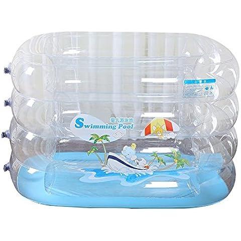 LIVY Piscina per bambini della piscina gonfiabile baby piscina bambino infantile ispessito bagno di famiglia