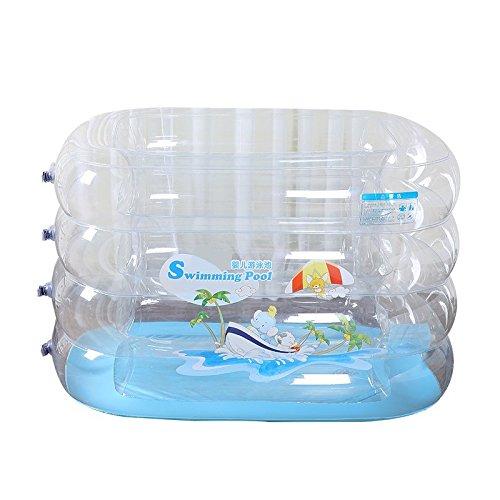 LIVY Baby Schwimmbad Säugling Baby aufblasbarer Swimmingpool Kinderbecken verdickt Familienbad