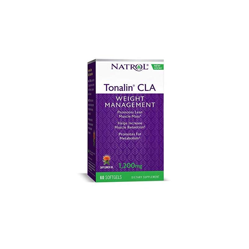 Natrol Tonalin CLA 1,200mg Softgels, 60 Count