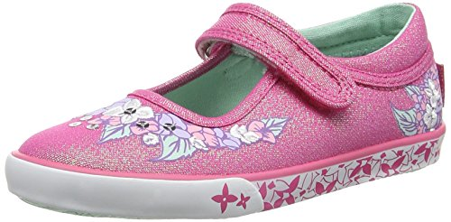Start-rite Summer Serenity, Girls' Boat Shoes, Pink (Pink Sparkle), 12 Child UK (30/31 EU)