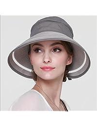 Fei Fei Sombrero de Mujer Sombreros de Playa de Verano Sombrero de Paja  Sombrero de sombreado 4c6467eeae7
