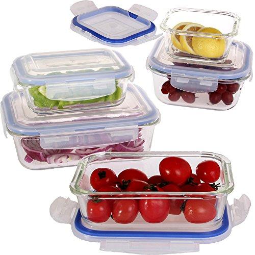 vhari-set-di-5-vetro-alimentari-contenitori-di-alta-qualita-vetro-borosilicato-airtight-e-perfetta-t