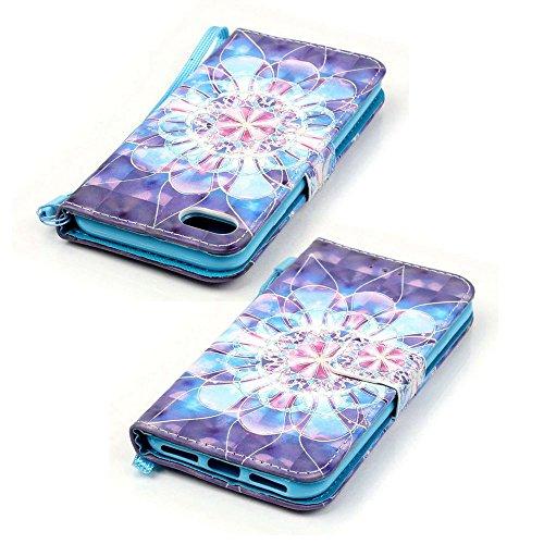Eine Vielzahl von Farben XFAY HX-455 iPhone 5/5S/SE Handyhülle Case für iPhone 5/5S/SE Hülle im Bookstyle, PU Leder Flip Wallet Case Cover Schutzhülle für Apple iPhone 5/5S/SE -7 Farbe-16