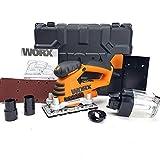 Worx 260W Schwingschleifer Schleifer Schleifmaschine 90x187mm - WX639