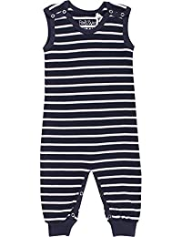 Fred's World by Green Cotton Stripe Romper, Mono para Bebés