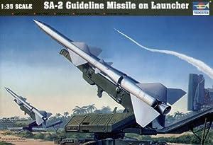 Trumpeter 206 SA-2 - Lanzador de misiles miniatura (escala 1:35) importado de Alemania