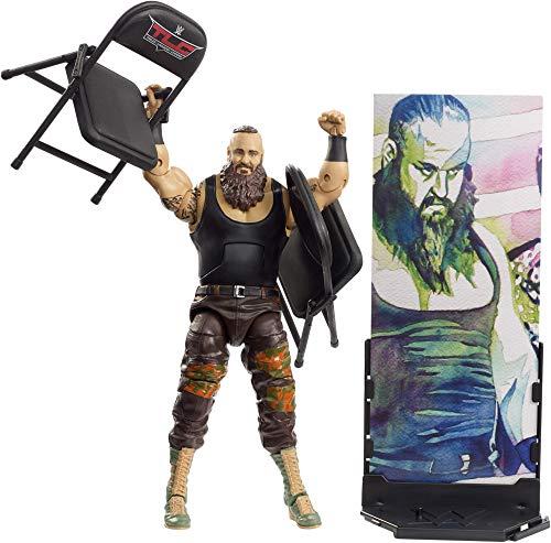 Mattel FMG75 WWE Braun Strowman 15 cm Elite Figur, Spielzeug Actionfiguren ab 6 Jahren