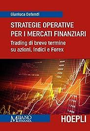 Strategie operative per i mercati finanziari: Trading di breve termine su azioni, indici e Forex