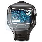 Bruni Schutzfolie für Garmin Forerunner 910XT Folie - 2 x glasklare Displayschutzfolie