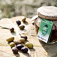 Italian Pitted Taggiasca Olive With Extra Virgin Olive Oil 260g