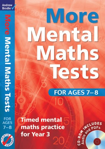 More Mental Maths Tests for Ages 7-8: Timed Mental Maths Practice for Year 3