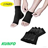 Best Fasciite plantaire Compressions - KUNFO Fasciite Plantaire Chaussettes Ultimate Support Manches pour Review