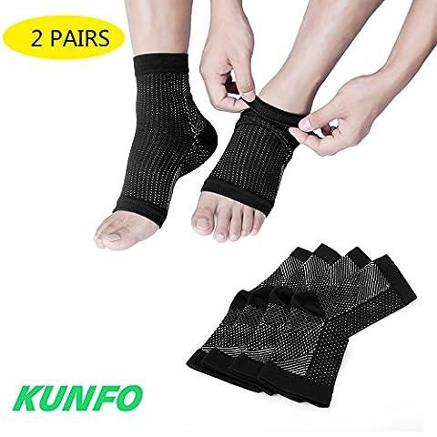 Kunfo fasciite plantaire Chaussettes Ultimate Support manches pour votre les
