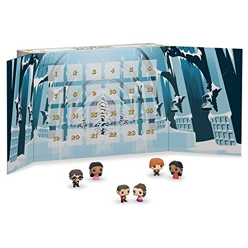 51mC4OzhrAL - Funko Advent Calendar Saga Calendario Adviento Harry Potter, Multicolor, Estándar (42753)