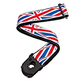 Planet Waves Sangle de guitare Planet Lock par Planet Waves, Union Jack