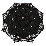LIKEZZ Ombrello da sposa in pizzo da sposa ombrello, 5