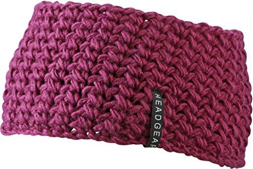 Fascia a mano grossolanamente a maglia in poliestere per gli uomini e le donne di noTrash2003 (Porpora)