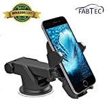 #8: Fabtec Premium Quality Smart Telescopic Universal Mobile Phone Car Mount Holder/Stand For Mahindra Xuv 500