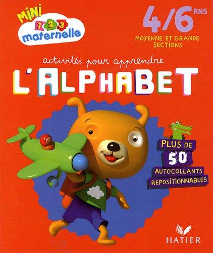 Activités pour apprendre l'alphabet, Moyenne et Grande section