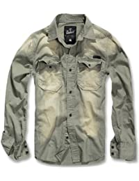 Brandit Hardee Denim Shirt Herren Hemd
