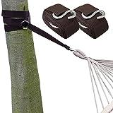 XXL Befestigung für Hängematte an Bäumen 6,4 Meter + max. 250 KG KOMPLETTSET NEU thumbnail