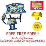 #2: Furniture First Minion'S Blue Kids Study Table & Chair Set, Suitable For Kids Between Age 3-10 Years