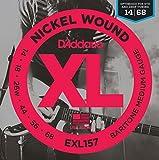 D'Addario EXL157 Saitensatz Baritone 014-068 Nickelplated Steel Round Wound