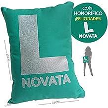 Inedit Novata Conductora Novel Cojín Broma