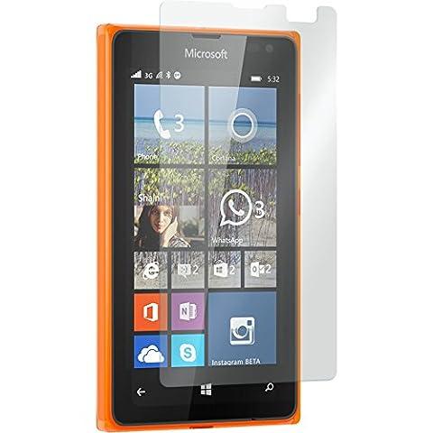 2 x Microsoft Lumia 532 protection écran verre trempé Lumia 532 clair - PhoneNatic