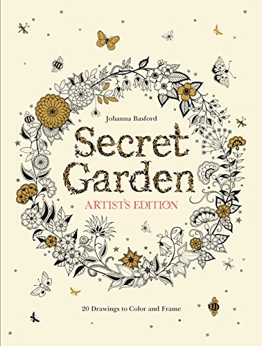 's Edition: 20 Drawings to Color and Frame (Johanna Basford-secret Garden)