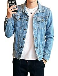 Amazon.it: giubbotto jeans imbottito: Abbigliamento