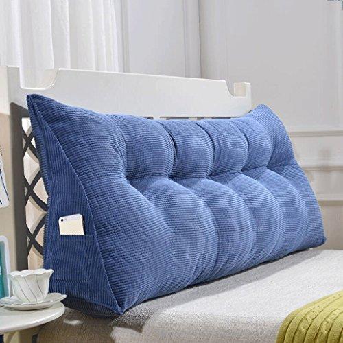 Unbekannt THBEIBEI Schlafsofa große Füllung Dreieck Keil Kissen Schlafzimmer Bett zurück Kissen Taille Pad abnehmbar (Farbe : F, größe : 60cm)