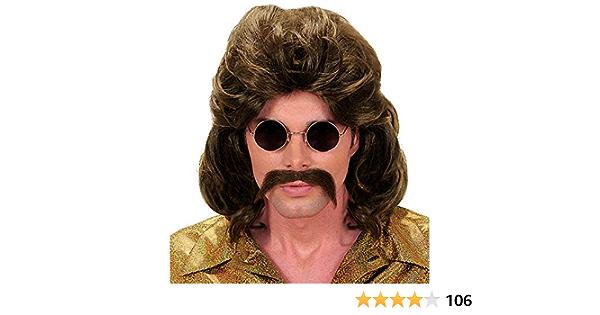 Brown Bjorn Parrucca Pop Star 70S 1970S Costume Accessorio Da Uomo