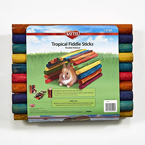 Interpet 860426 Superpet Tropical Fiddle Sticks, kreative Stockkonstruktion - gro -