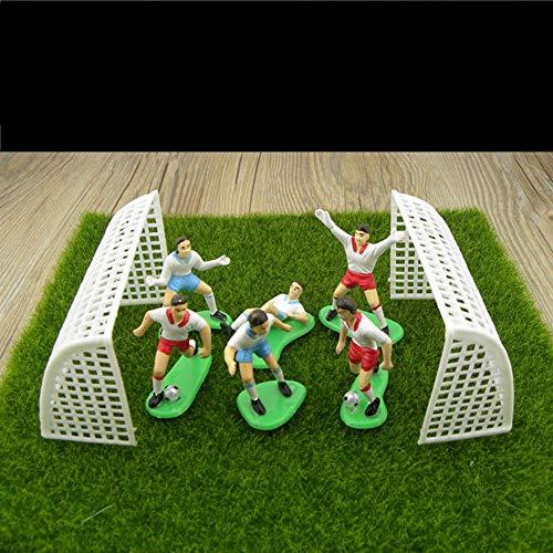 e Jeu de Football Soccer Sport Décoration de gâteaux Décoration de fête fête d'anniversaire DIY Outils de gâteau de Cadeaux Enfants Jouet ()