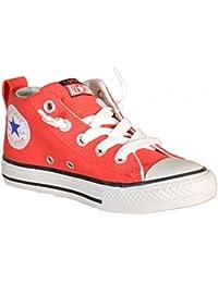 Converse Niño/o Altas Zapatillas de Deporte 656851C CTAS HI Fluo Rojo Talla 37 Rosso Fluo