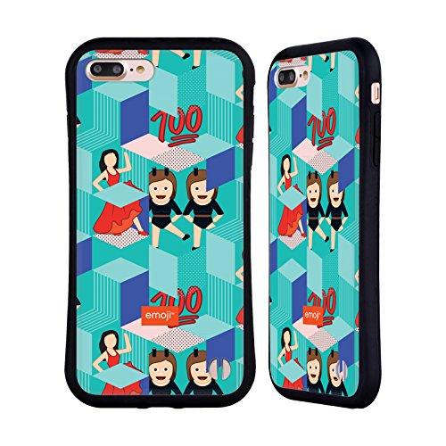 Ufficiale Emoji Scatole Modelli 2 Case Ibrida per Apple iPhone 6 / 6s Scatole