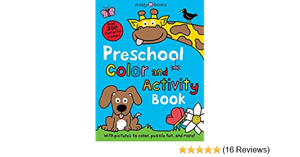 Buy Preschool Color & Activity Book (Color and Activity Books) Book ...