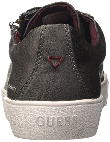 Guess Herry, Sneaker a Collo Basso Uomo Grigio