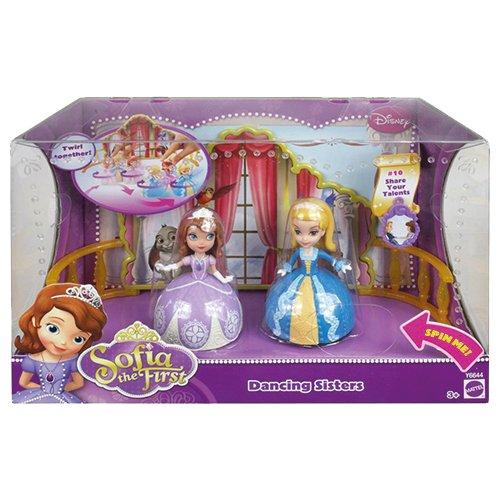 Mattel Disney's Sofia die Erste Y6644 - Tanzende Schwestern, 2 Puppen im ()