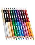 Jolly 3000–0503–Super Stick Crazy, matériel d'apprentissage, 24couleurs, 12crayons