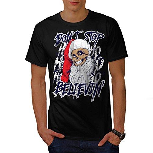 Halloween Ist Alt 11 Kostüme Jahre Lustig (Weihnachtsmann Schädel Spaß Weihnachten Herren S T-shirt |)