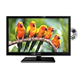 Veltech 24'' LED TV Full HD 1080p Digital Freeview TV With Built In DVD Player USB