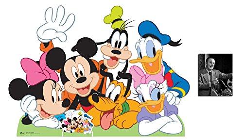 Mickey Mouse und Freunde Lebensgrosse Klein Pappaufsteller - mit 25cm x 20cm foto (Mouse Mickey Pappaufsteller)