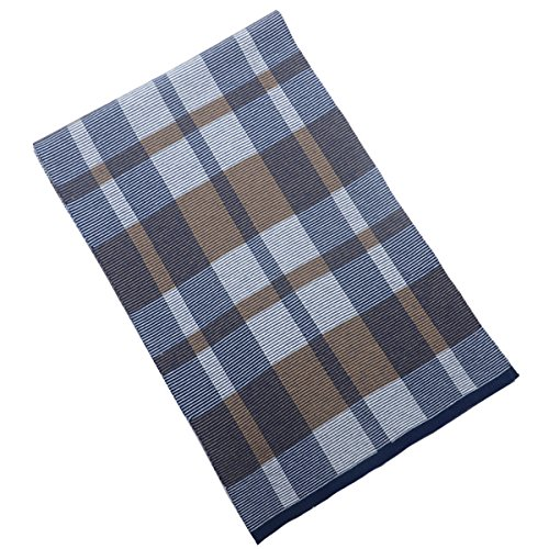 La nouvelle automne et l'hiver 2015 en cachemire à carreaux foulards pour hommes blue