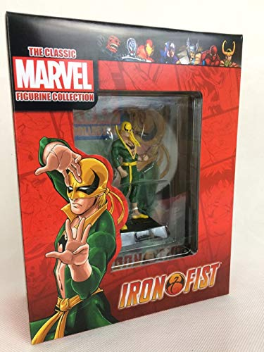 Eaglemoss Iron Fist Classic Marvel Figurine Collection Maßstab 1:21 aus Metall
