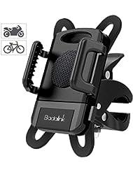 Fahrrad Handyhalterung / Motorrad Handyhalterung, Universal 360 Grad Drehbarer Fahrrad Smartphone Handyhalter Halterung für iOS Android Smartphone GPS-Gerät