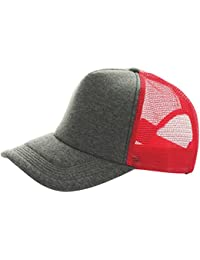 Baseball Cap Jersey Trucker charcoal/red